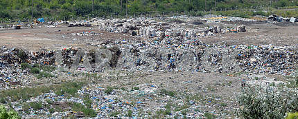 Garbage dump overview