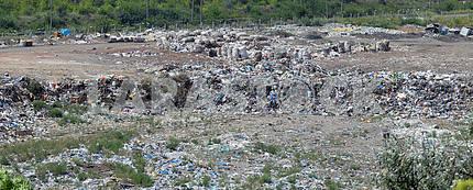 Garbage dump overview