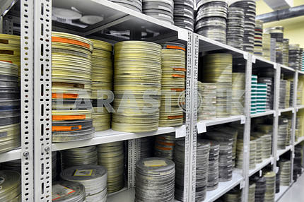 Films were stored in the archive