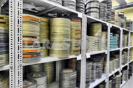 Фильмы хранятся в архиве
