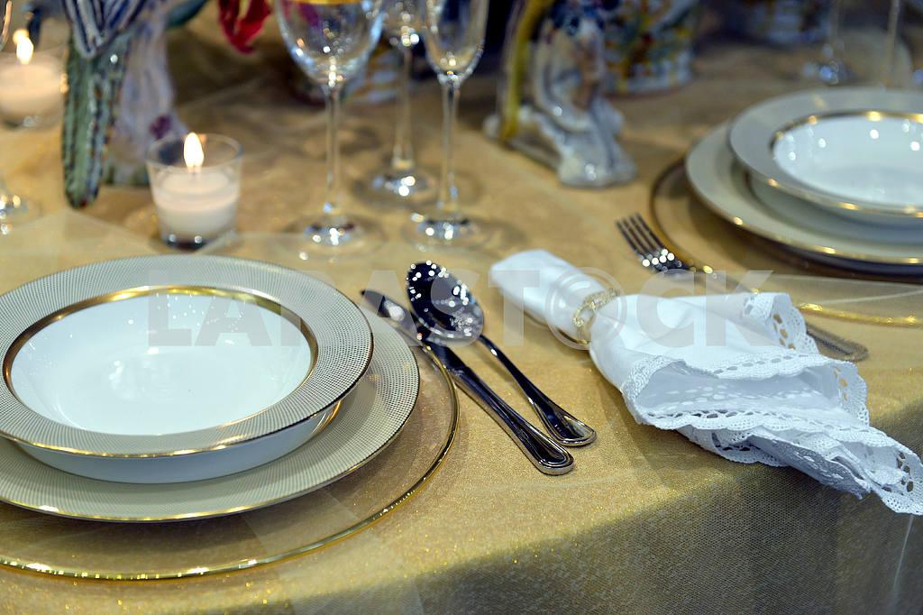 Beautiful table setting — Image 19581