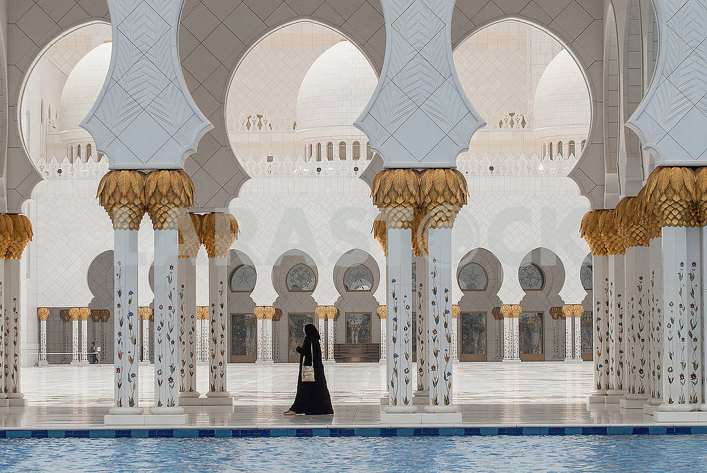Sheikh Zayed Grand Mosque, Abu Dhabi — Image 19718