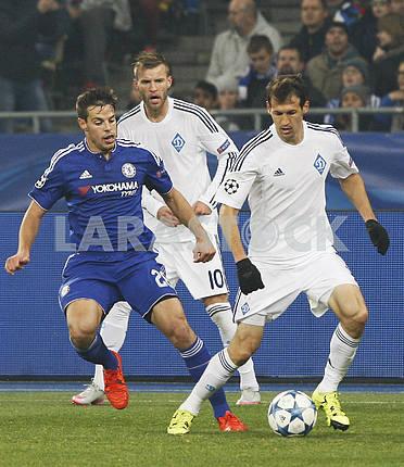 Match Dynamo Kiev vs Chelsea,UEFA Champions League.