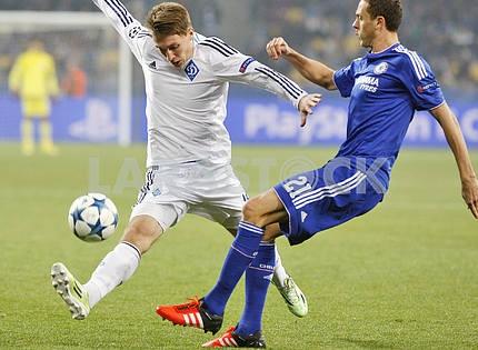 Матч Динамо Киев - Челси, Лига Чемпионов УЕФА