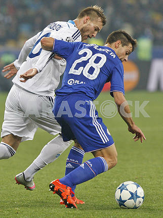 Match Dynamo Kiev vs Chelsea,UEFA Champions League.