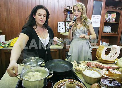 Ruslana Pysanka and Olga Sumskaya