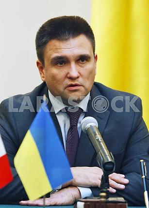 Министр иностранных дел Украины Павел Климкин.