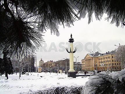 Zaporozhye, Lenin Avenue