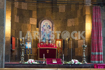 Altar. Saint Gayane Church.