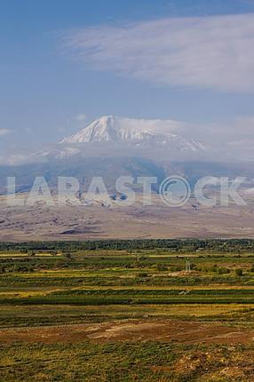 Panoramic views of Mount Ararat.