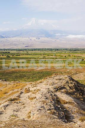 Панорамный вид на гору Арарат.
