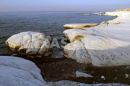 Rocks on the seashore