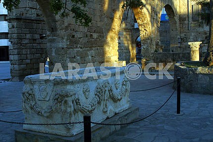 The tomb. Limassol. Cyprus