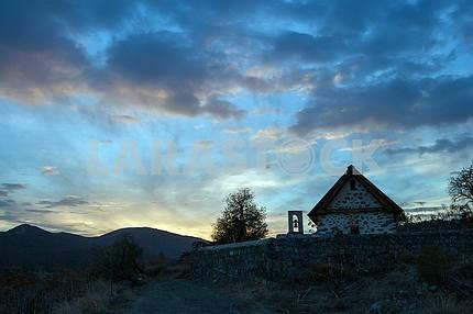 Abandoned Monastery Weeklа on Cyprus