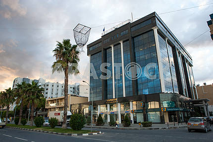 The building in Limassol