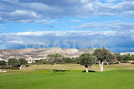 Lawn Golf Club. Pathos. Cyprus