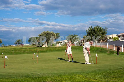 Golf Club. Pathos. Cyprus