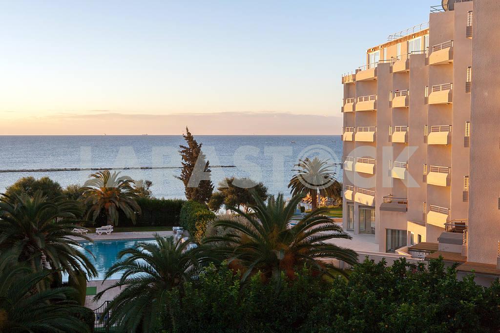 Hotel near by the  Medditerian sea — Image 20301