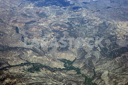 Cyprus aerial view
