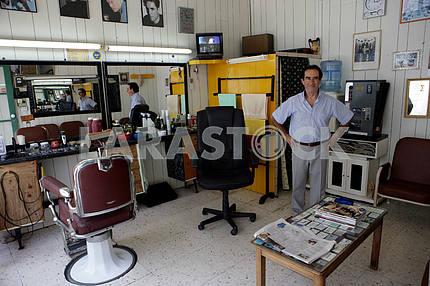 Hair salon on the Cyprus