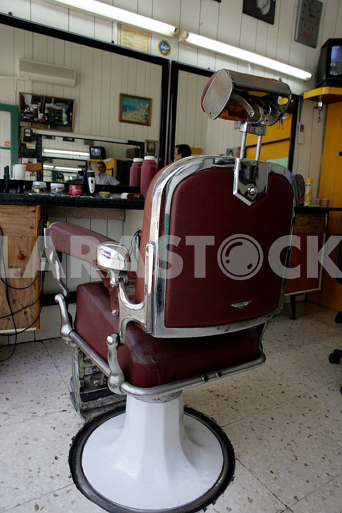The chair in the barbershop. Cyprus — Image 20314
