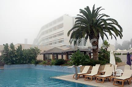 Hotel swimming pool. Cyprus
