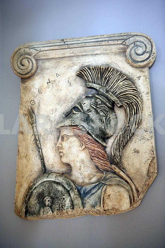 Athena. Cyprus. Fresco — Image 20329