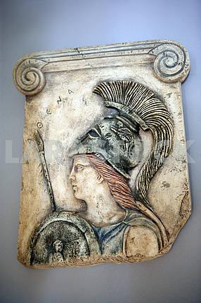 Athena. Cyprus. Fresco