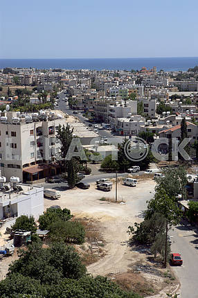 View of the streets of Paphos