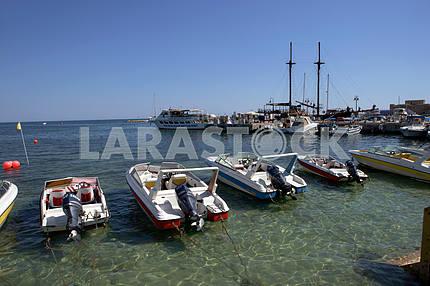 Port. Pathos. Cyprus