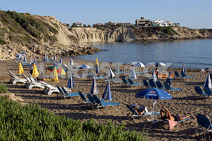 Coral Bay. Cyprus