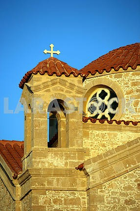 Church of St. George. Fragment. Cyprus