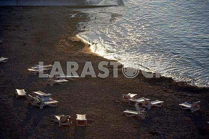 Sea shore. Cyprus