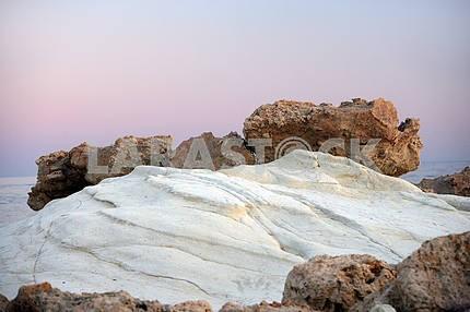 Coastal stones in Cyprus
