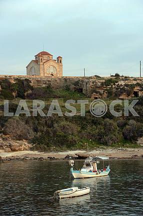 Рыбацкие лодки на Кипре