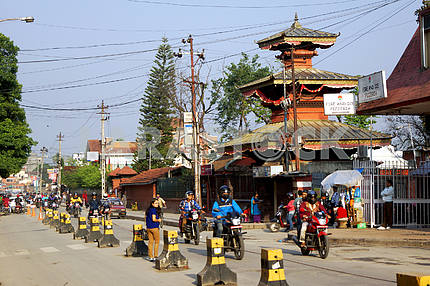 Улица в Непале, Катманду