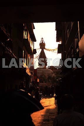 Ступа Сваямбунатх, Катманду, Непал.