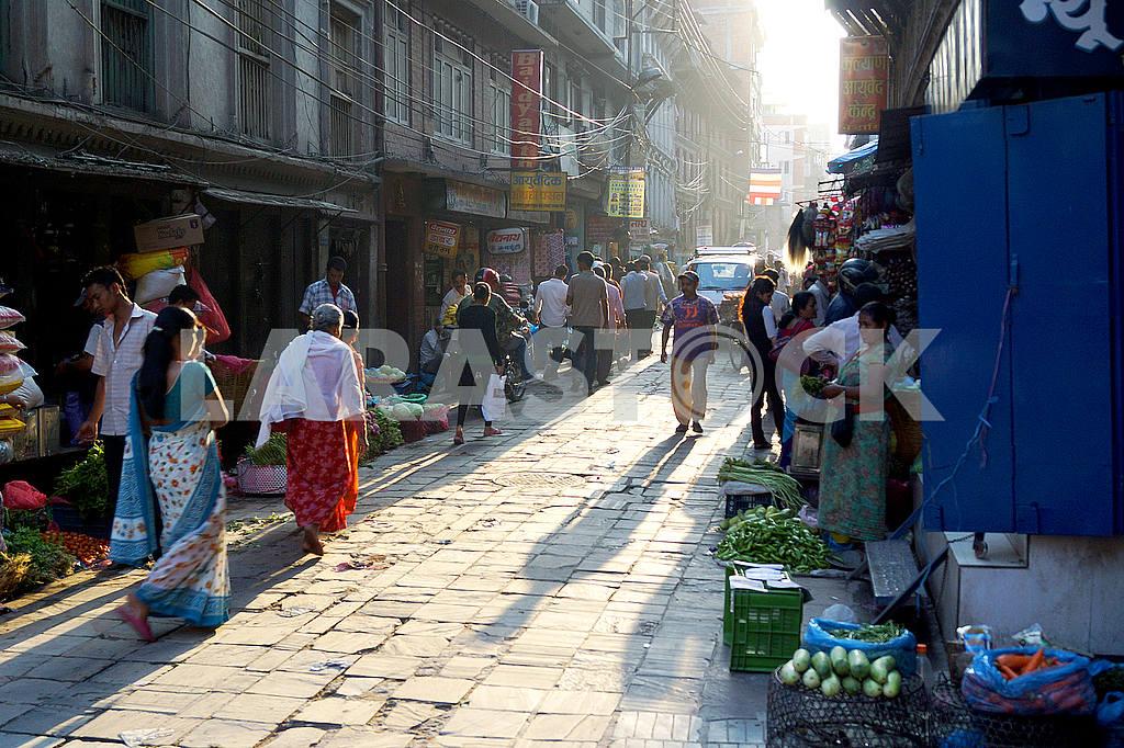 Street vending, Nepal, Kathmandu — Image 20381