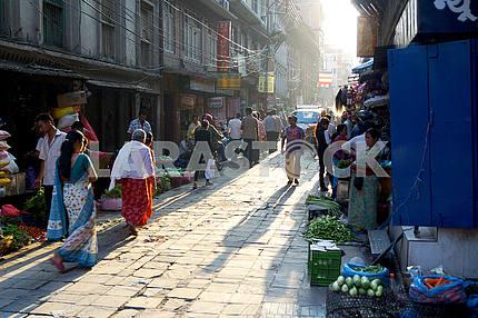 Street vending, Nepal, Kathmandu
