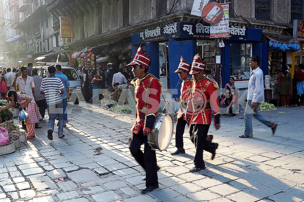 Polish musicians, Kathmandu — Image 20382