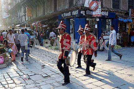 Polish musicians, Kathmandu