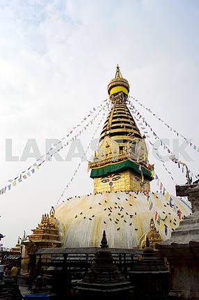 Swayambhunath Stupa .