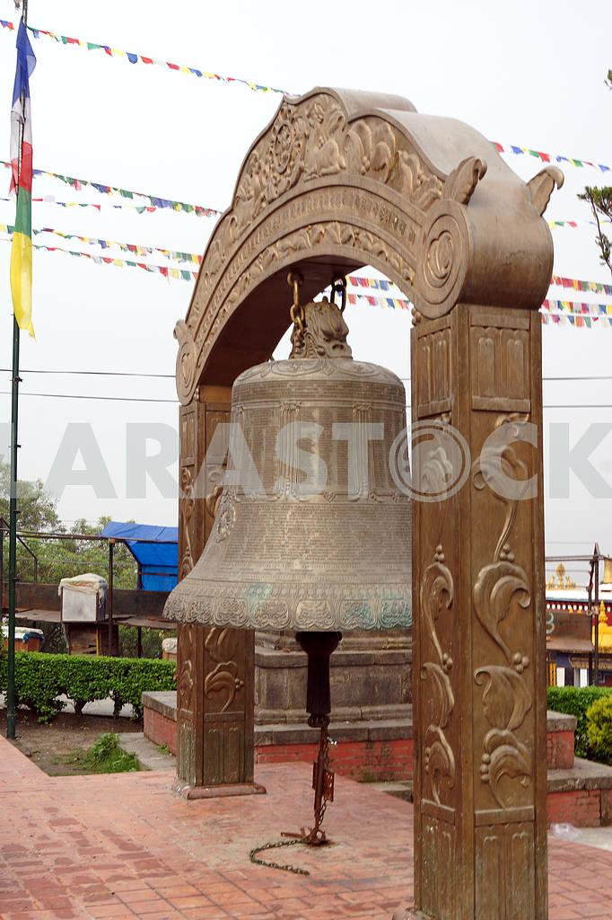 Ritual bell, Nepal, Kathmandu — Image 20428