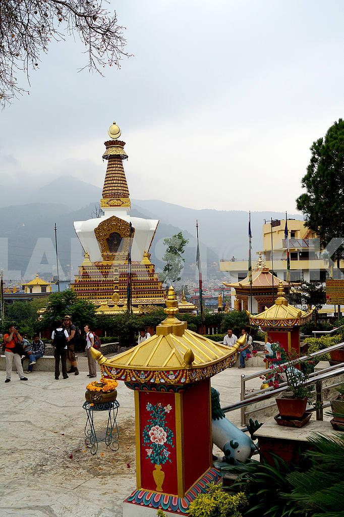 Kopan Monastery. Nepal, Kathmandu — Image 20447