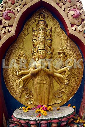 Buddha Stupa. Nepal, Kathmandu