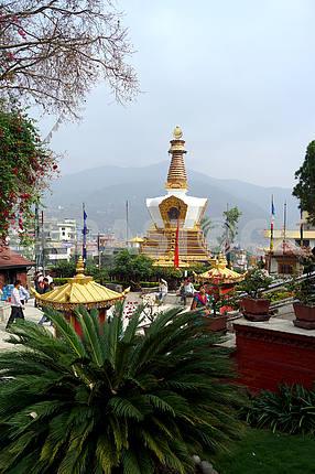 Монастырь Копан. Непал, Катманду