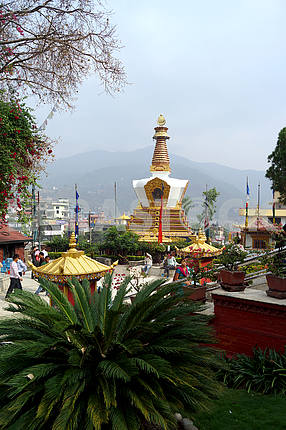 Kopan Monastery. Nepal, Kathmandu