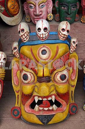 Mask Hindu God - Lhasa, Tibet