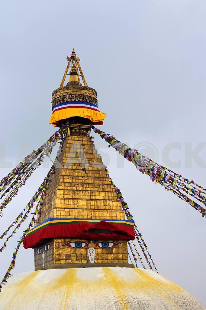 Boudhanath Stupa . — Image 20484