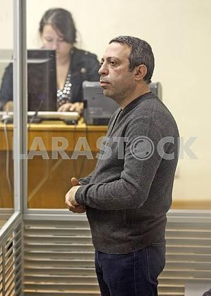 The trial of Ukrop party leader Gennadiy Korban.